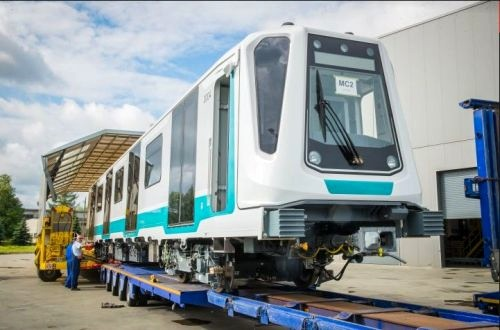 First Inspiro train for Sofia metro leaves factory