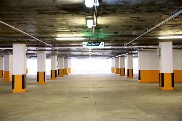 پارکینگ طبقاتی فرودگاه مشهد افتتاح شد