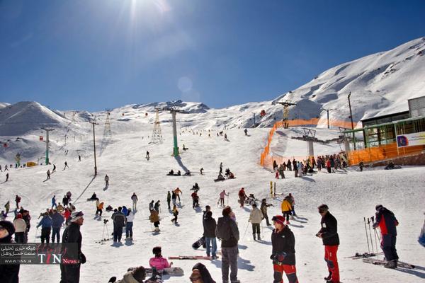 اسکی در اطراف تهران