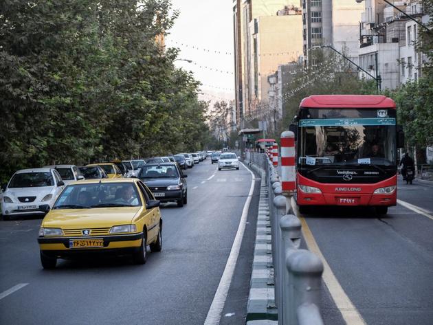 کاهش سفر با اتوبوس در پایتخت از 3 به 2 میلیون