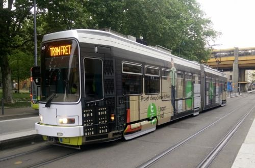 Freight tram trial delivers for retailer