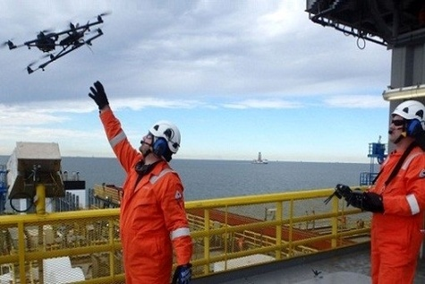 First drone inspection in Gulf of Mexico completed