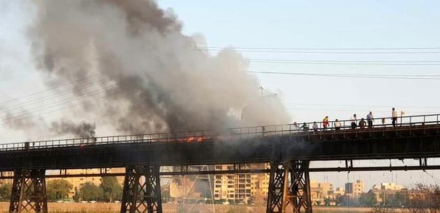 مکاتبه برای جلوگیری از آتشسوزی دوباره در قدیمیترین پل اهواز