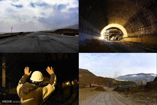 افتتاح یک لاین همت تا پایان آبان / تکمیل تونل غربی زمانبر است