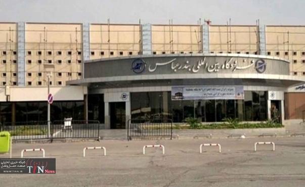 آتشسوزی در فرودگاه بینالمللی بندرعباس