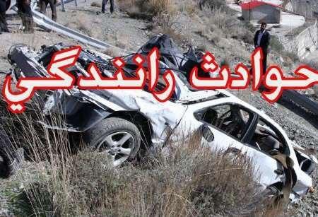 حادثه رانندگی در جاده ضیاء آباد-تاکستان – یک مصدوم برجا گذاشت