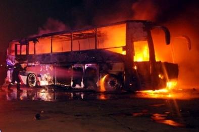 تعلیق دو ساله مجوز فعالیت راننده اتوبوس سانحه سنندج