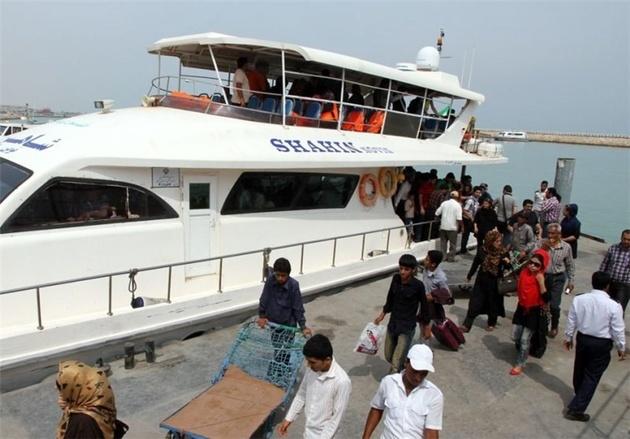 تردد حدود ۶ میلیون مسافر از جزیره قشم