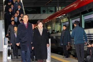 بازگشایی خطوط ریلی کره شمالی و جنوبی، پس از 11 سال