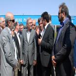 بازدید دبیر شورای عالی مناطق آزاد از مجتمع بندری خرمشهر