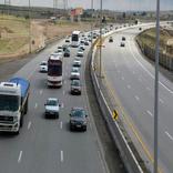 ترافیک در جاده چالوس/ وضعیت محور هراز و فیروزکوه