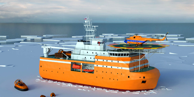 Construction starts for Russia's self-propelled Arctic research platform
