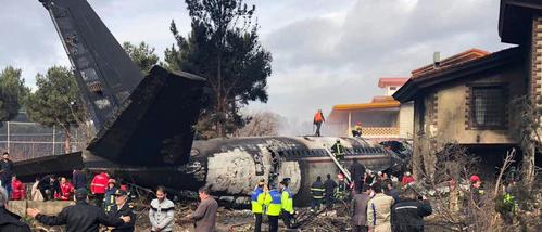 سقوط هواپیمای قرقیزستانی در صفادشت