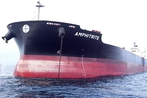 Diana Shipping Inc. Announces Time Charter Contract for m/v Amphitrite with Cargill