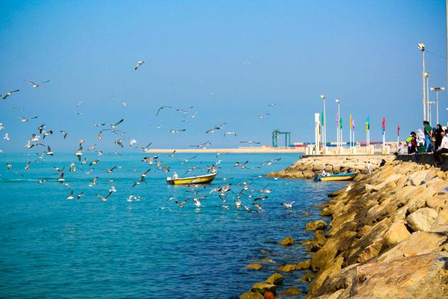 راهاندازی نخستین کشتی تفریحی مدرن در آبهای بوشهر
