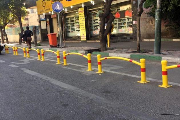 اولین مسیر ایمن دوچرخهسواری در بزرگراههای پایتخت راهاندازی شد