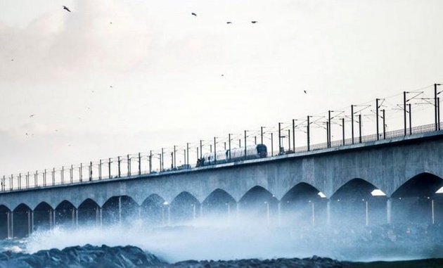 کشته شدن 6تن در برخورد دو قطار در دانمارک