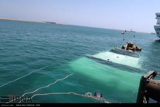 گزارش تصویری/ غرق شدن کشتی مسافربری دنا