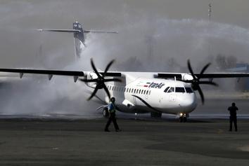 پنج فروند هواپیمای ATR به ایران تحویل  شد