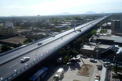 صدای مردم/ وجود یک نقطه پرحادثه در خروجی منطقه شاهپور جدید اصفهان
