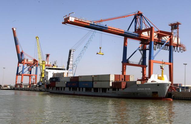 بندر خرمشهر از مهمترین بنادر تجاری کشور است