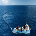 The Ocean Cleanup arrives at Great Pacific Garbage Patch