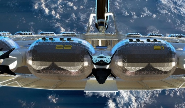 THE FIRST SPACE HOTEL SET TO OPEN ITS DOORS IN 2025