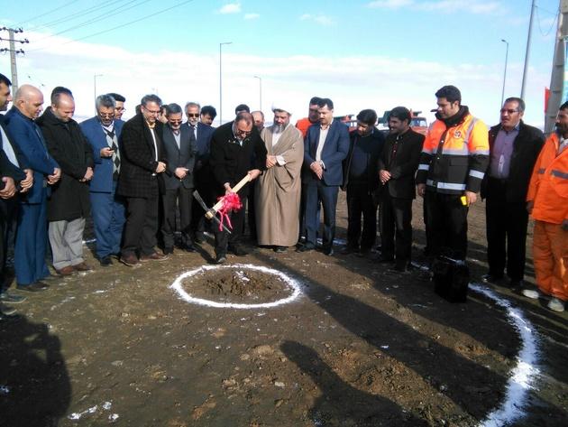 آغاز به کار اصلاح تقاطع ایست بازرسی شهید زارعی بهار