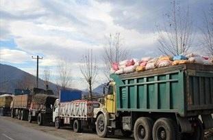 جابهجایی بیش از یک میلیون تن کالا در استان اردبیل