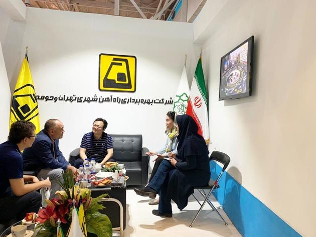 نظر رییس بخش خاورمیانه شرکت CRSC درباره مترو تهران