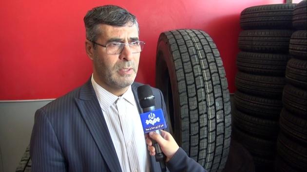 توزیع لاستیک در بین رانندگان استان اردبیل ادامه دارد