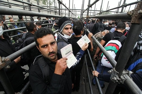 افزایش ۲۶ درصدی تردد زائران از مرز مهران