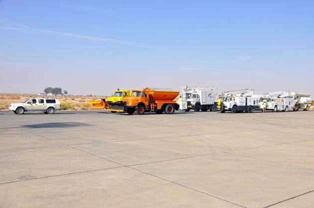 تجهیزات عملیات زمستانی فرودگاه اصفهان بازرسی شد