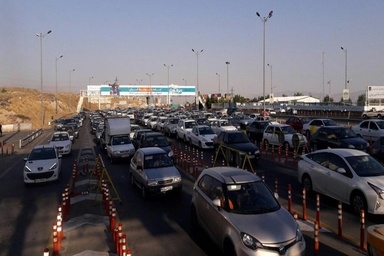 افزایش ۱.۱ درصدی ترددها/ترافیک نیمه سنگین در ورودی پایتخت