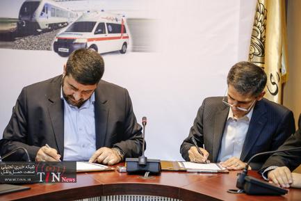 تفاهمنامه همکاری بین راهآهن و اورژانس