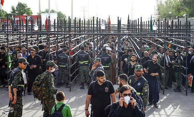 تردد زائران اربعین از سه پایانه مرزی