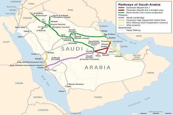 راهآهن ساحلی کشورهای شورای خلیج فارس چیست؟