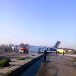 Airliner landing out of runway in Mahshahr airport with no casualties