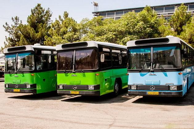 ادامه توقف فعالیت ناوگان سازمان اتوبوسرانی اهواز در شرایط قرمز