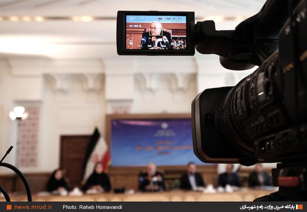 گزارش تصویری: نشست خبری معاون حملنقل وزیر راه و شهرسازی