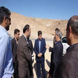 بازدید مدیرکل راه و شهرسازی خراسان شمالی از پروژه راهسازی محور دهستان سنگر شهرستان فاروج