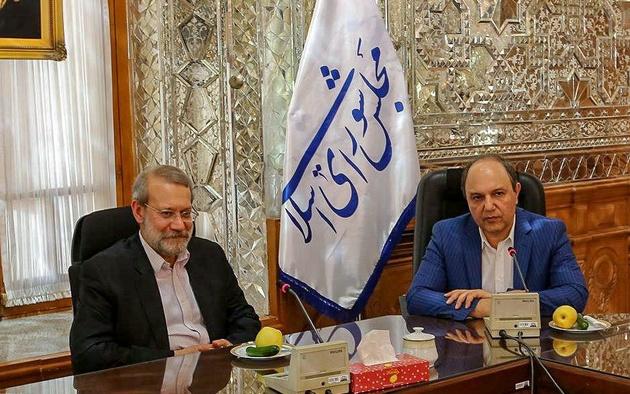 دیدار مدیران کشتیرانی با رئیس مجلس