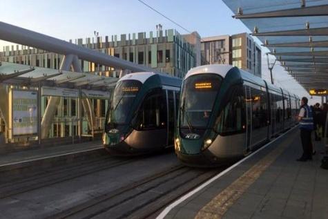 Nottingham Express Transit Phase ۲ opens