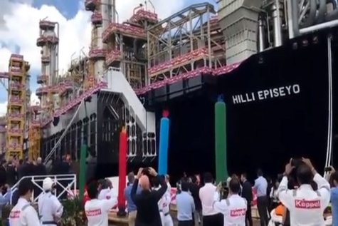 World's first converted Floating Liquefaction Vessel to be delivered