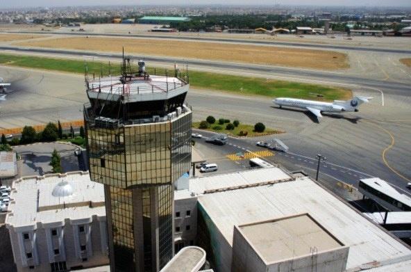کاهش آمار پروازهای مهرآباد نسبت به اردیبهشت