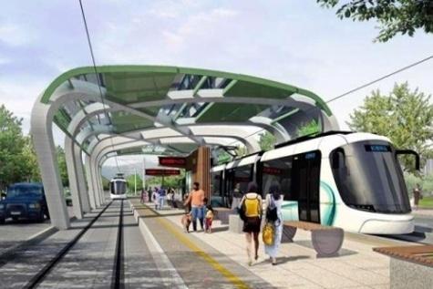 Danhai Light Rail Transit(LRT), Taipei, Taiwan