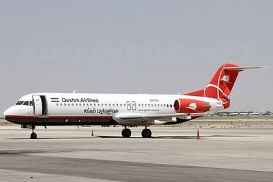 ورود هواپیمای RJ به ناوگان عملیاتی قشمایر