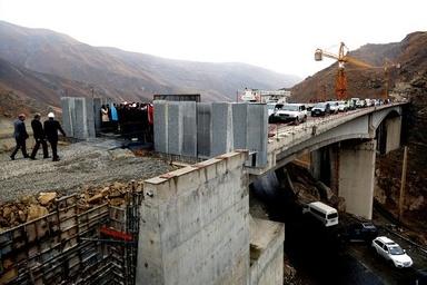 پیشرفت 85 درصد قطعه یک آزادراه تهران شمال/ 500 میلیارد تومان اعتبار مورد نیاز برای تکمیل پروژه