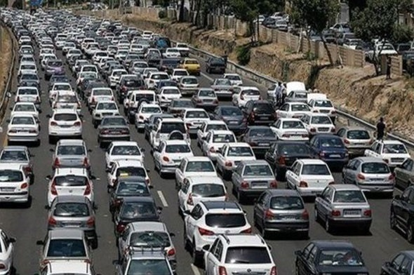 حجم ترافیک در آزاد راه های زنجان بالا است