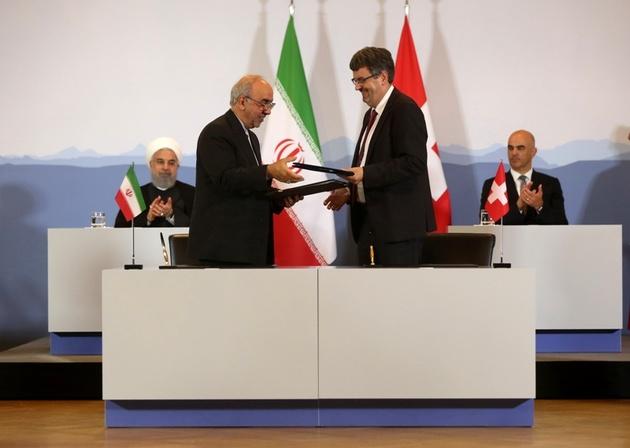 سند همکاری حملونقل ایران و سوییس امضا شد